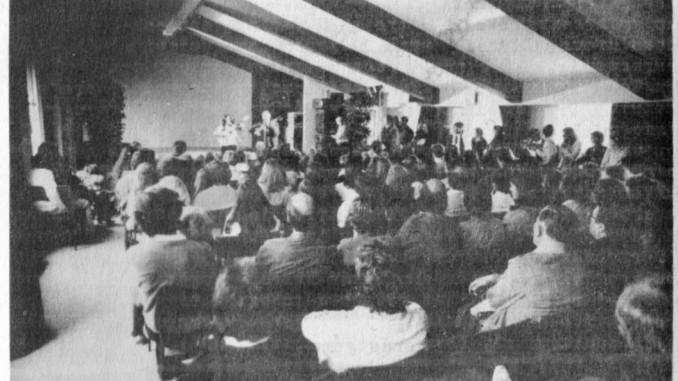 AG Song Treffen 1981 in Wiesbaden