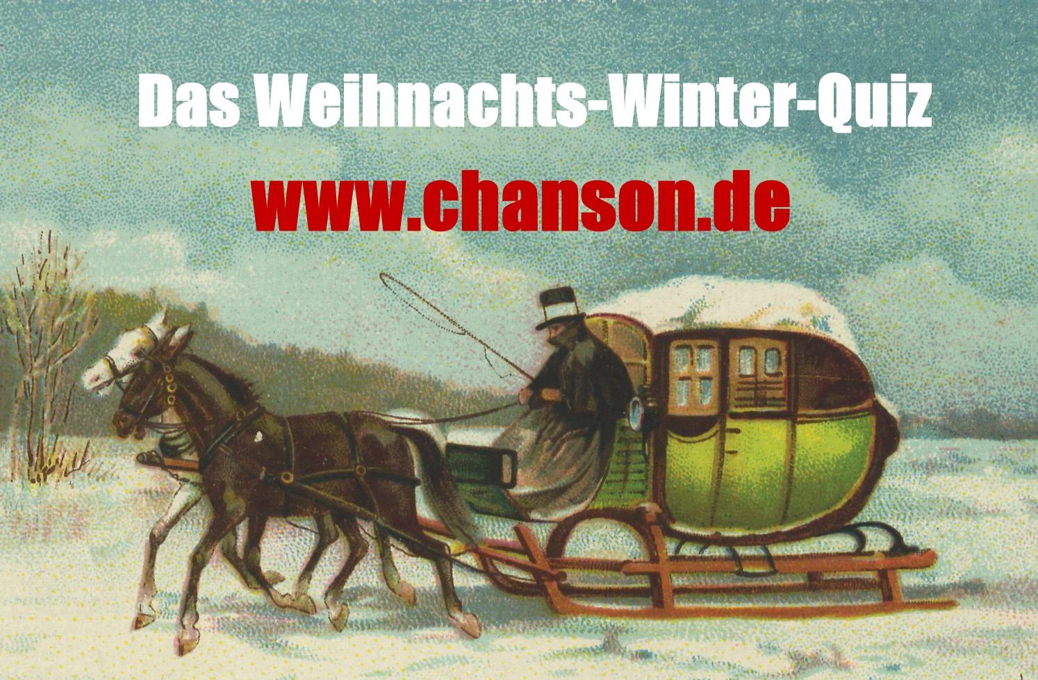 Preise für das Winter-Weihnachts-Quiz 2015