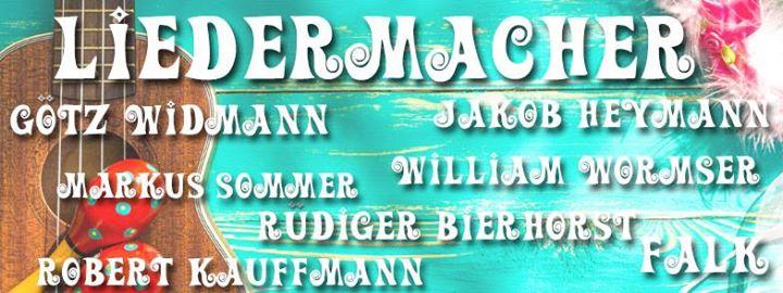 KöLN Konzert LIEDERMACHER mit Götz Widmann, Rüdiger Bierhorst, Falk, Jakob Heymann uvm.