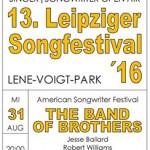 Leipzig, Lene-Voigt-Park // Nadine Maria Schmidt beim 13. Song Festival