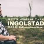 Alex Diehl / Ingolstadt – Bretter meiner Welt-Akustik Tour 2017
