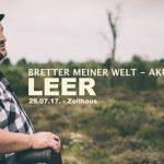 Alex Diehl / Leer – Bretter meiner Welt – Akustik Tour 2017