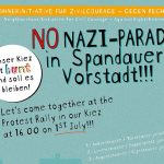 NOnazi-Parade in der Spandauer Vorstadt