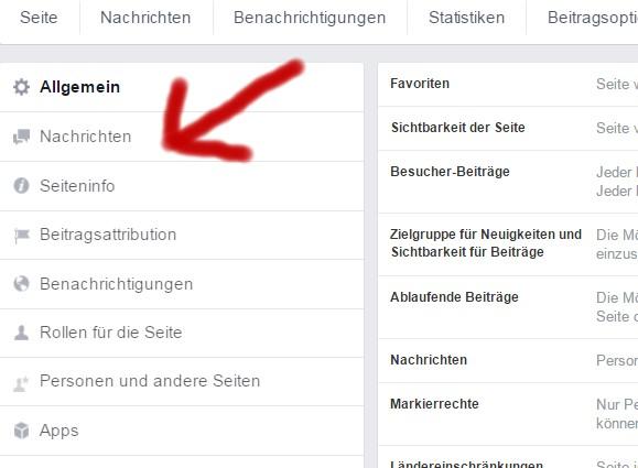 Richtiger Name für Facebook-Künstlerseiten