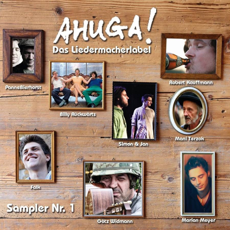 Ahuga! Das Liedermacherlabel – Sampler Nr.1