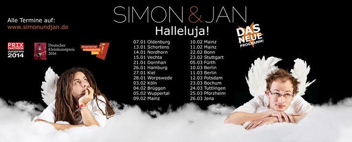 Simon & Jan – Halleluja! (live in Trier)