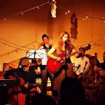 Alt Tellin, proVie-Theater // Nadine Maria Schmidt beim Liederwerkstattabschlusskonzert