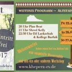 Der wilde Westen (Haldens)lebt! – Altstadtfest 2017- Khepera